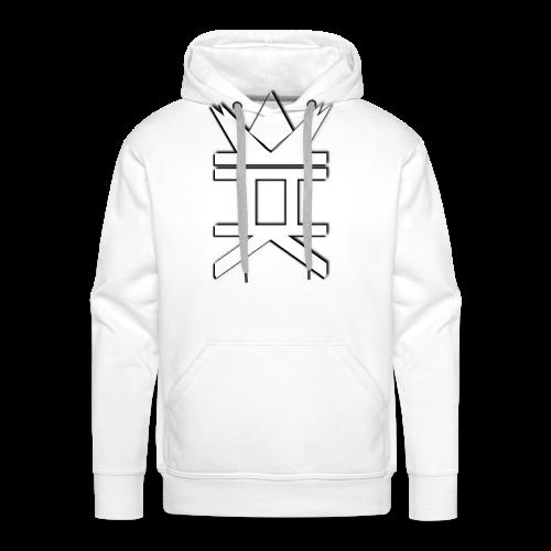 HelzbaK's Vertical - Sweat-shirt à capuche Premium pour hommes