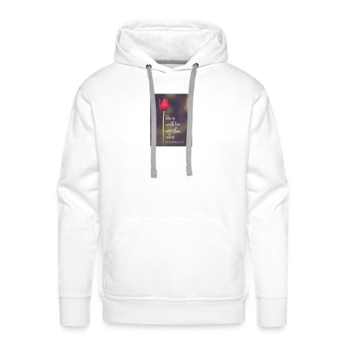 IMG 20180308 WA0027 - Men's Premium Hoodie