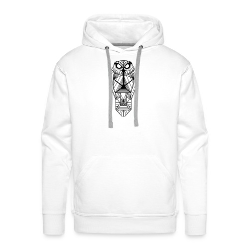 owl - Sudadera con capucha premium para hombre
