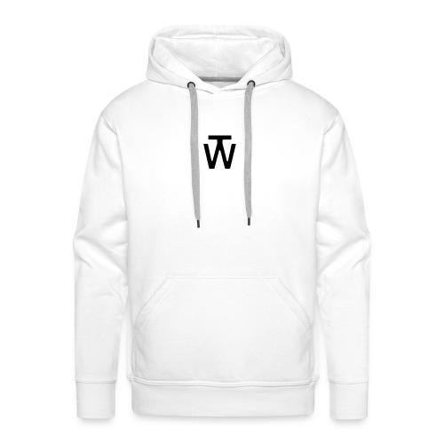 wt_site_logo-gif - Mannen Premium hoodie