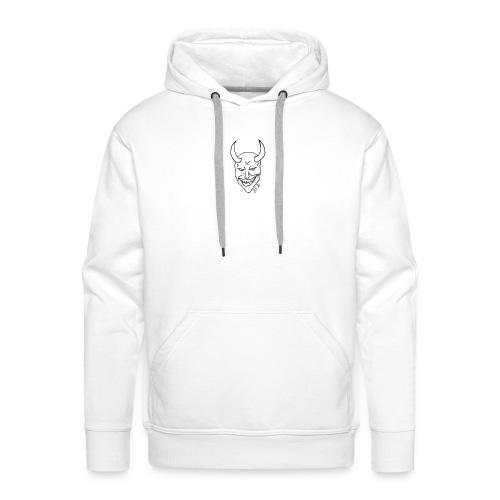 devil 852 - Sweat-shirt à capuche Premium pour hommes