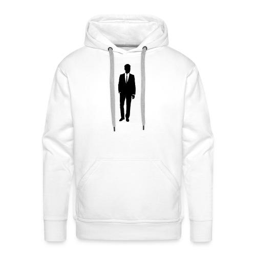 Gentleman - Sweat-shirt à capuche Premium pour hommes