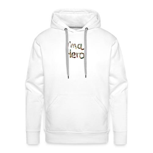 I'm aHero Grafitti - Männer Premium Hoodie