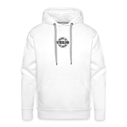 made in the Netherlands - Mannen Premium hoodie