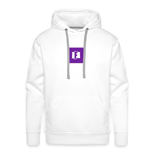 Fortnite logo - Men's Premium Hoodie