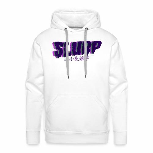 Slurp - Sweat-shirt à capuche Premium pour hommes