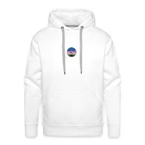 Squirrel And Uni Hoesje - Mannen Premium hoodie