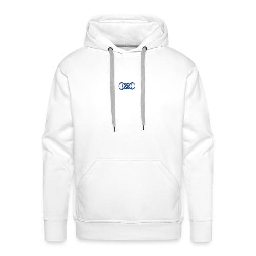 V - Sweat-shirt à capuche Premium pour hommes