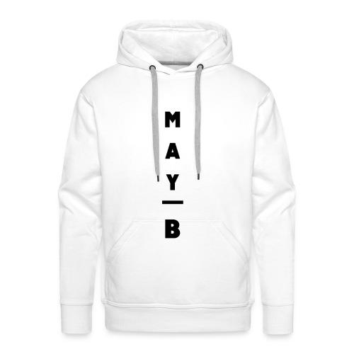 May-B Sleeve Design - Men's Premium Hoodie