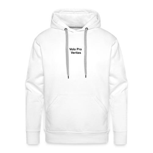 Volo Pro Veritas button 25mm - Mannen Premium hoodie