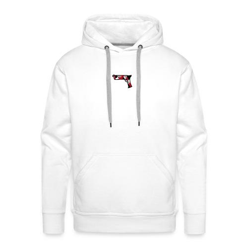 strijdR pistol polo white - Mannen Premium hoodie