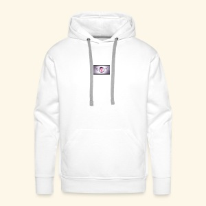 Mascotte YouTube - Sweat-shirt à capuche Premium pour hommes