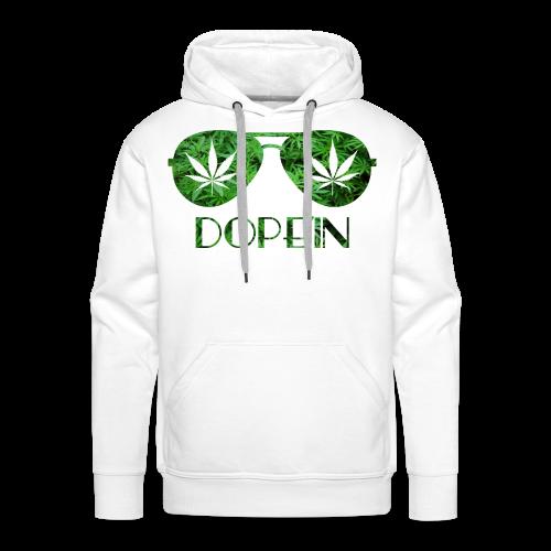 DOPEIN - Weed Sunglasses - Männer Premium Hoodie