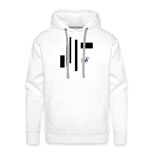 Abstract - Mannen Premium hoodie