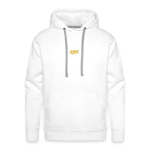 String LogoOrange - Sweat-shirt à capuche Premium pour hommes