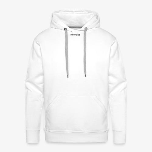 minimalist - Männer Premium Hoodie