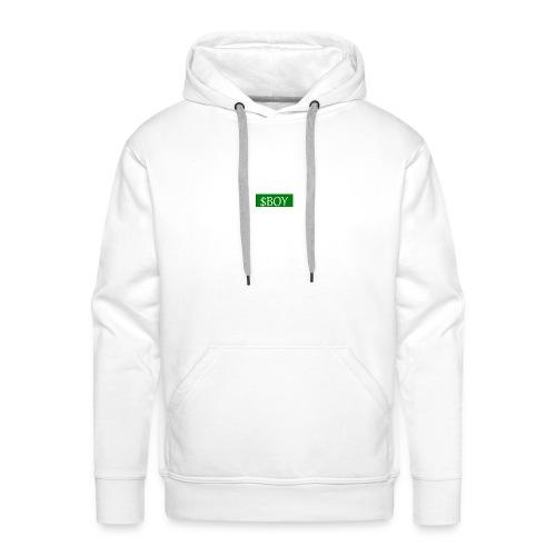 sboy logo - Sweat-shirt à capuche Premium pour hommes