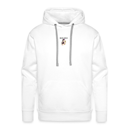 Wiimote warrior - Men's Premium Hoodie