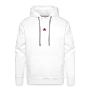 Red BGC Crown - Men's Premium Hoodie