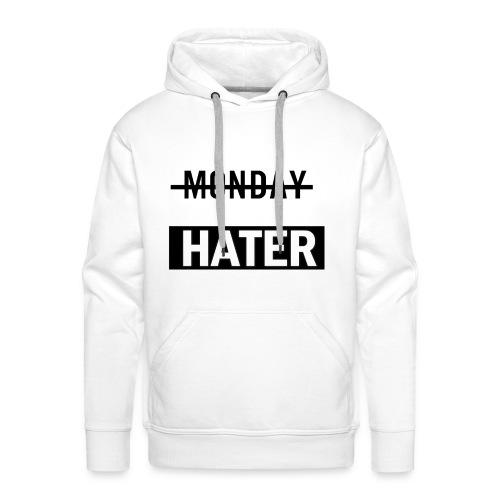 monday hater - Men's Premium Hoodie