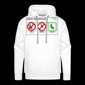 Windowseat Safety Instructions - Men's Premium Hoodie