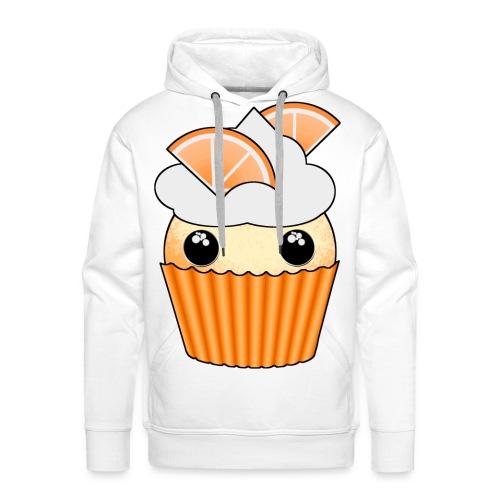 muffins apelsin orange med klyftor - Premiumluvtröja herr