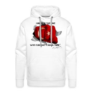 Ne mutlu Turkum diyene - Mannen Premium hoodie