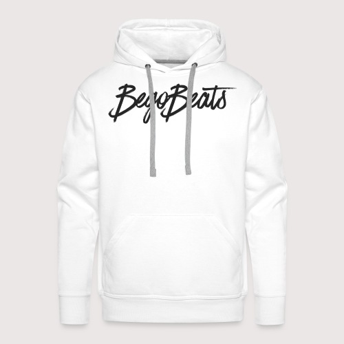 BegoBeats White Collection - Men's Premium Hoodie