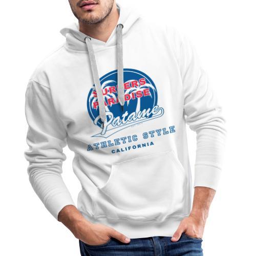 Surfers Paradise Athletic Blue - Männer Premium Hoodie