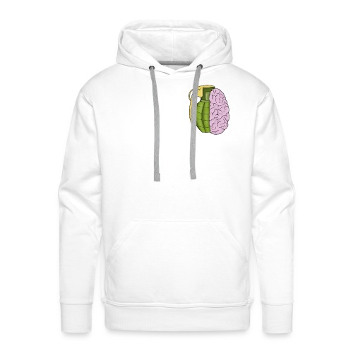 Brain - Sudadera con capucha premium para hombre