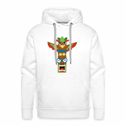 totem - Sweat-shirt à capuche Premium pour hommes