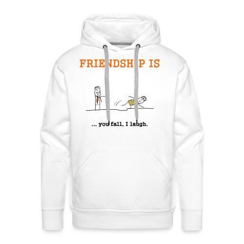 FRIENDSHIP - Männer Premium Hoodie