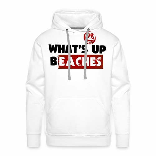 whatsup for white - Männer Premium Hoodie