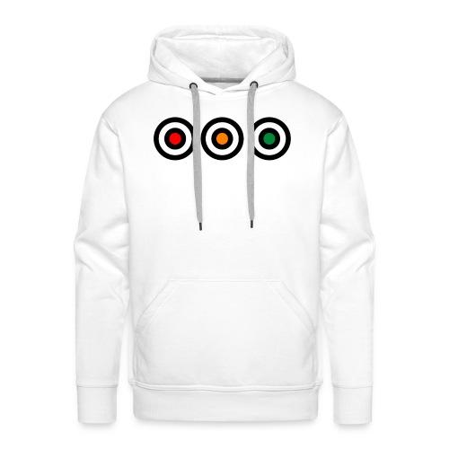 Rond - Sweat-shirt à capuche Premium pour hommes