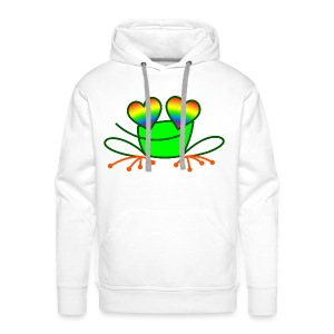 Pride Frog in Love - Men's Premium Hoodie