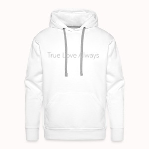 True Love Always - Sweat-shirt à capuche Premium pour hommes