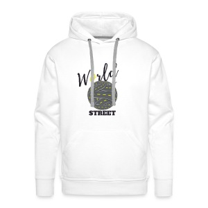 World is Street - Sweat-shirt à capuche Premium pour hommes