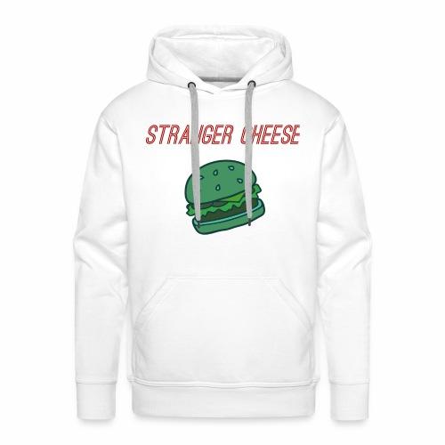 Stranger Cheese - Sweat-shirt à capuche Premium pour hommes