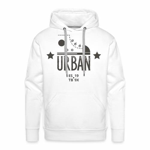 URBAN SNEAKER - Sportler Turnschuh Sport Shirt - Männer Premium Hoodie