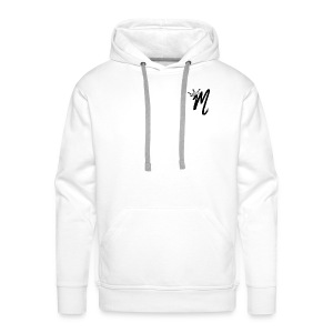 ItzManzey (OFFICIAL WHITE TOPS AND HOODIES) - Men's Premium Hoodie