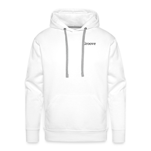 Groove - Sweat-shirt à capuche Premium pour hommes