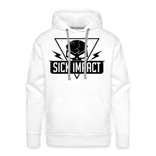 Sick Impact White - Männer Premium Hoodie