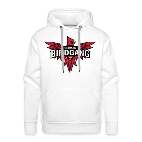 German Birdgang Logo White - Männer Premium Hoodie