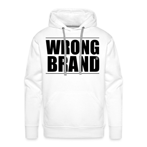 Wrong Brand: the ultimate brand parody - Men's Premium Hoodie