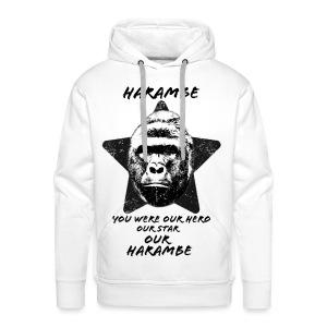 Harambe - Herre Premium hættetrøje