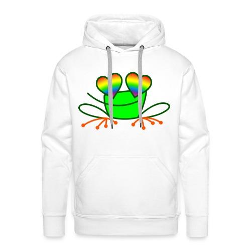 Pride Frog in Love - Men's Premium Hoodie