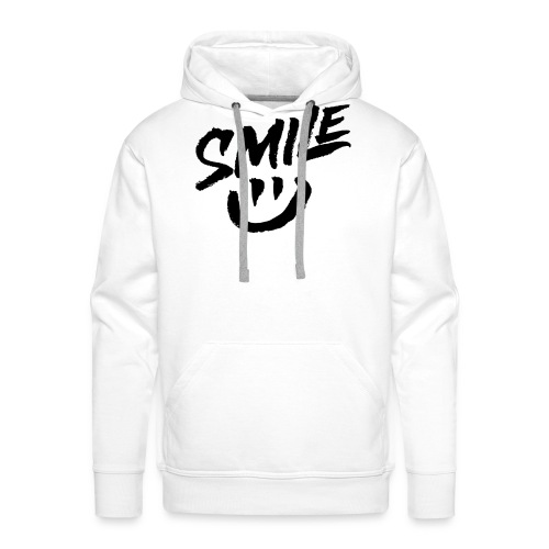 Smile - Sweat-shirt à capuche Premium pour hommes