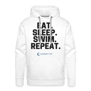 EAT. SLEEP. SWIM. REPEAT. - Men's Premium Hoodie