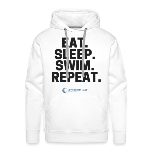 EAT. SLEEP. SWIM. REPEAT. - Men's Premium Hoodie