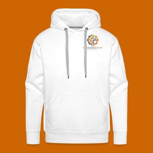 Clockwork-Orange Community Logo mit Schrift - Männer Premium Hoodie